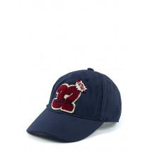 """Бейсболка синего цвета для мальчиков с шевроном """"32"""""""
